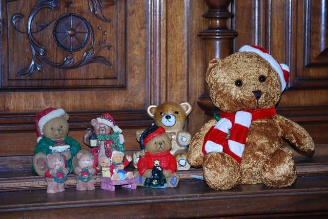 les ours de Noël