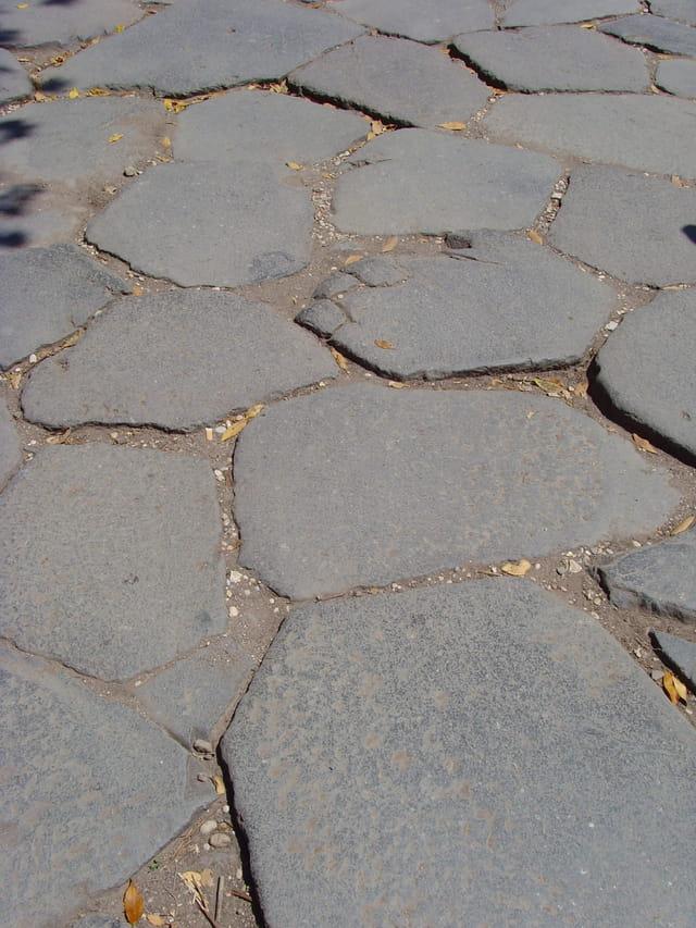 Les pavés de Rome