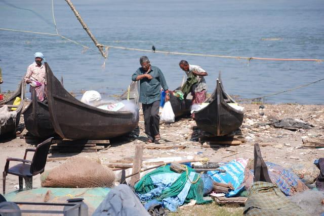 les pêcheurs de Cochin
