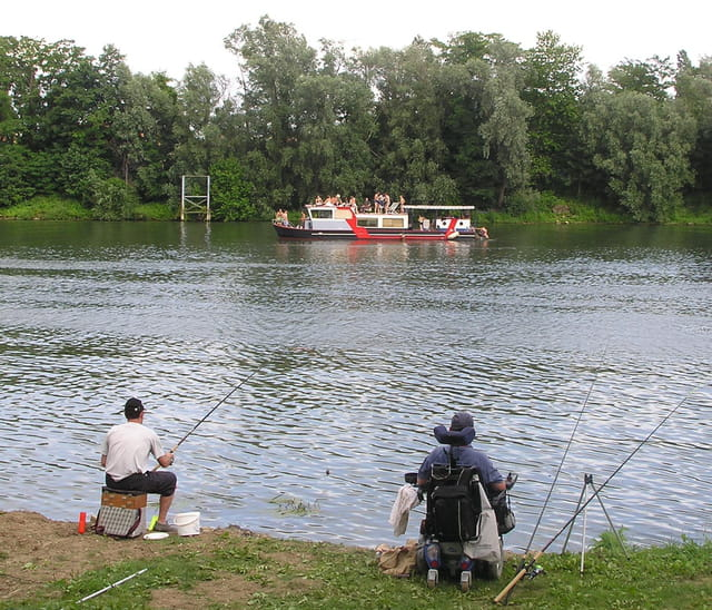 Les pêcheurs du Parc Corbière