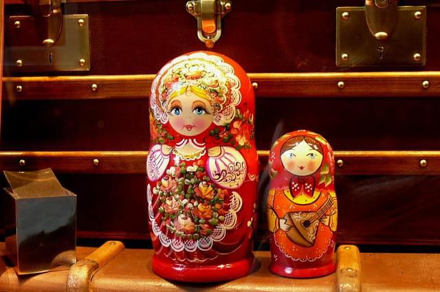 Les petites poupées russes