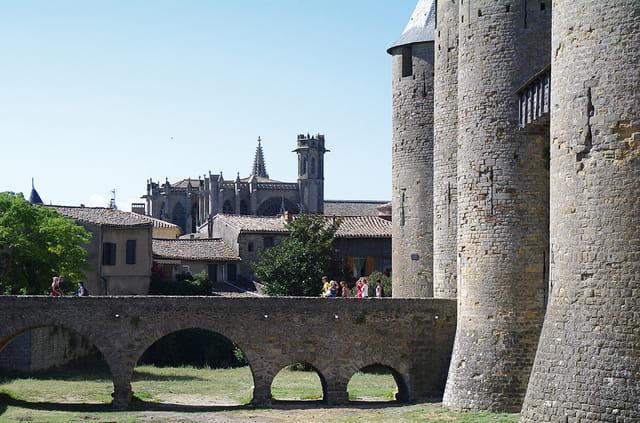 les pierres de Carcassonne