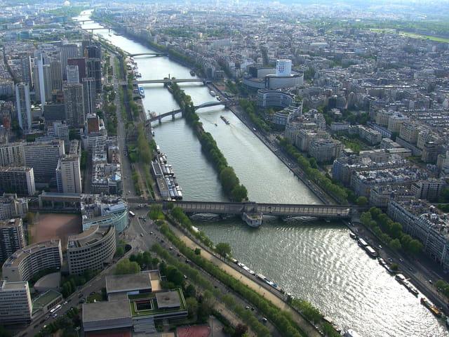 Les pont de la Seine