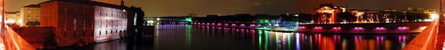 Les Quais de la Garonne hauts en couleurs