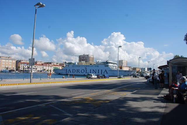 les quais de Zadar