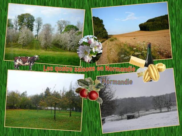 Les quatre saisons en Normandie