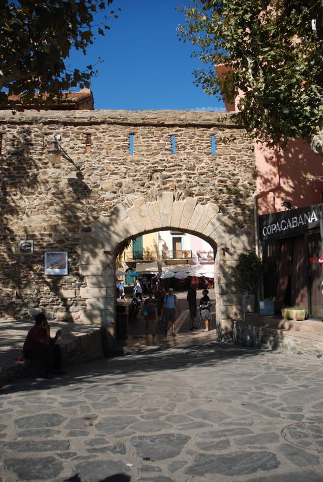 les remparts de Collioure