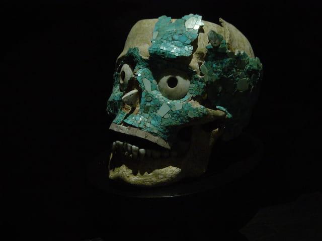 Les restes d'un empereur zapoteque.