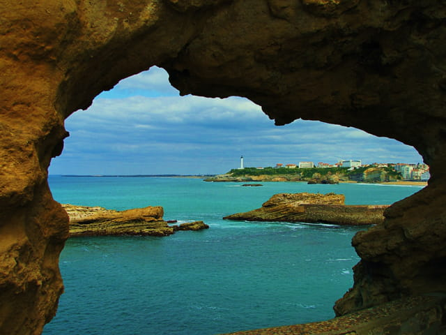 Les rochers de Biarritz