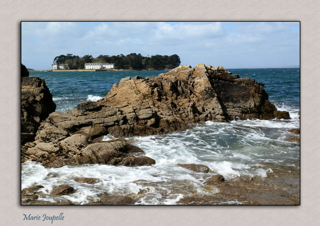Les rochers de Pors-Cad