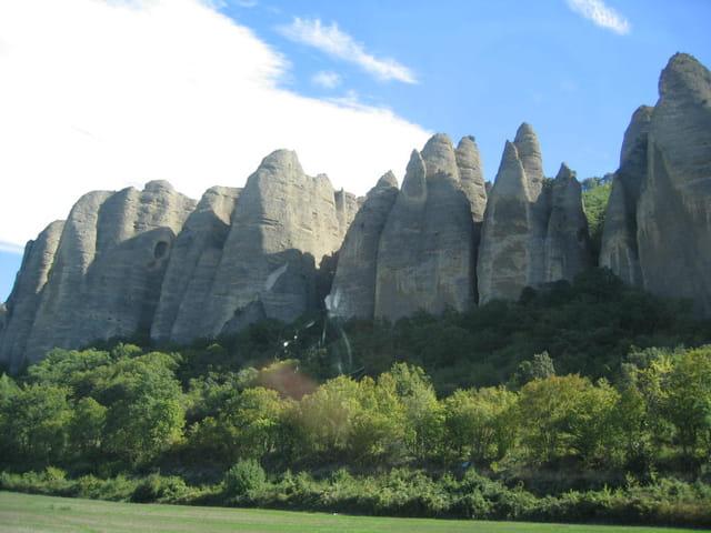 Les rochers des pénitents