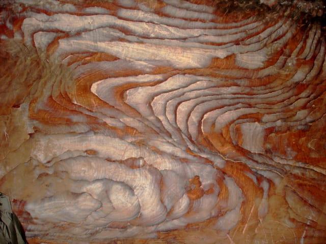 Les roches colorées de petra