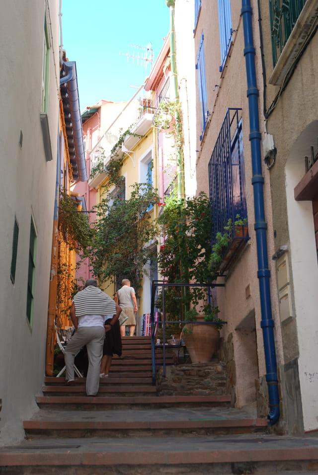 les ruelles de Collioure