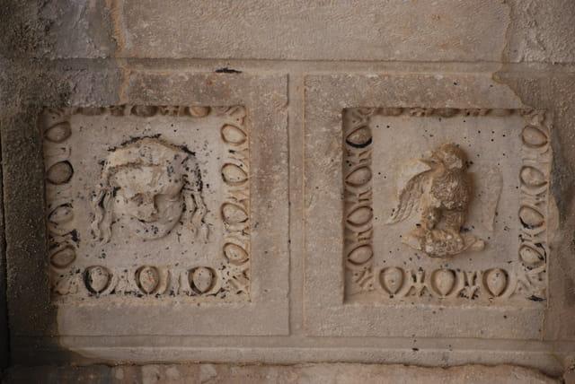 Les sculptures d'Aspendos