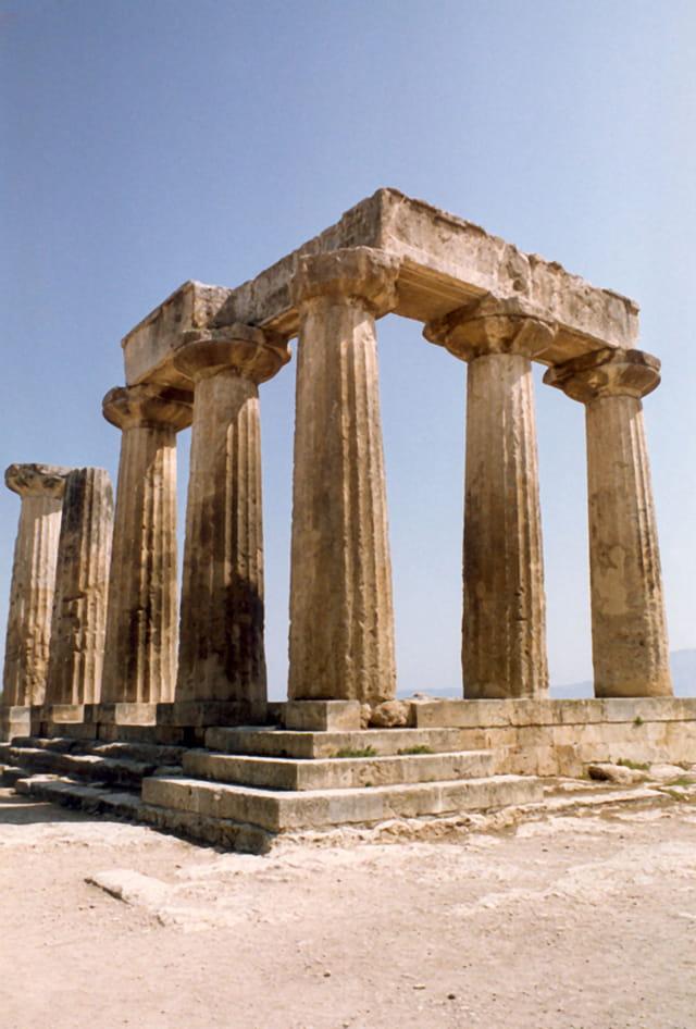 Les sept colonnes d'Apollon