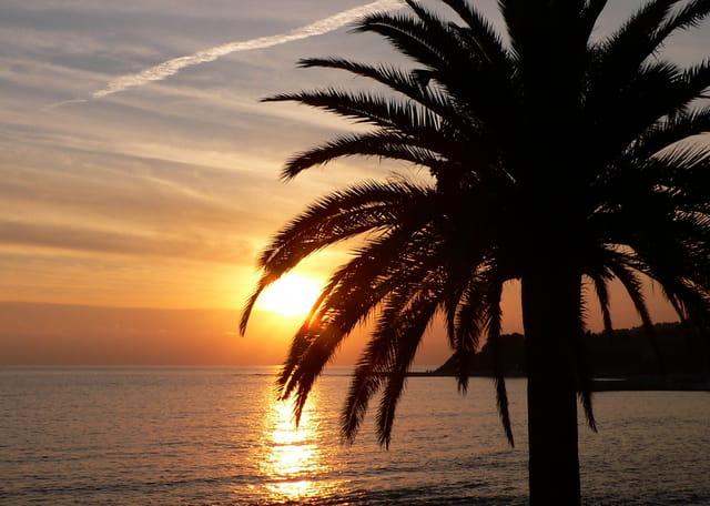 Le soleil se couche