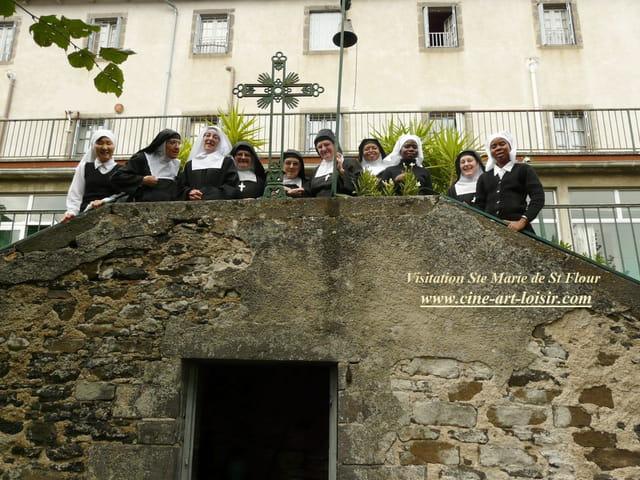 les sourires à la Visitation de Ste  Marie de St Flour