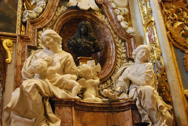 le mausolée de Ramon Perellos, Grand Maître de l'Ordre des Chevaliers de l'Ordre de Saint...