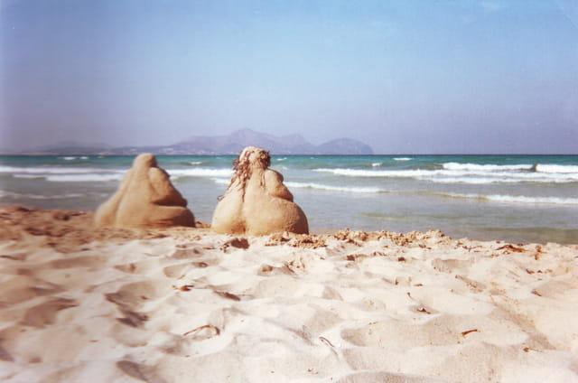 Les statues de sable