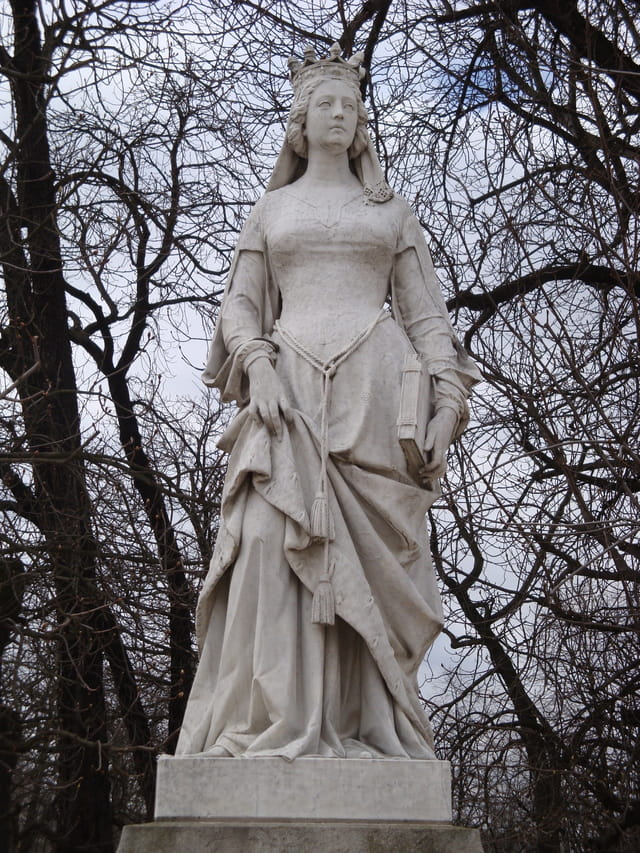 Les statues du Jardin du Luxembourg - partie 1