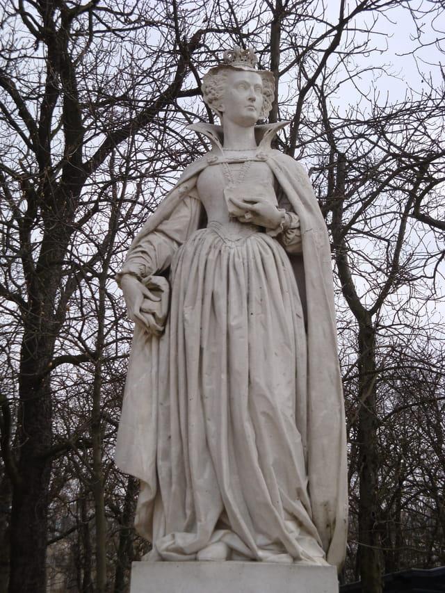 Les statues du Jardin du Luxembourg - partie 3