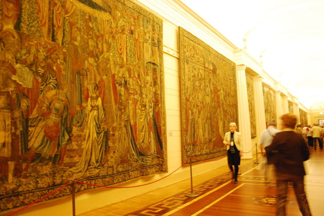 les tapisseries du Musée de l'Ermitage