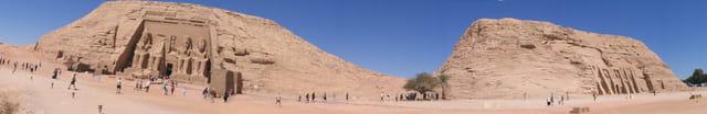 Les temples d\' Abu Simbel