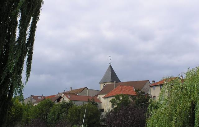 Les toits de Carrières-sur-Seine