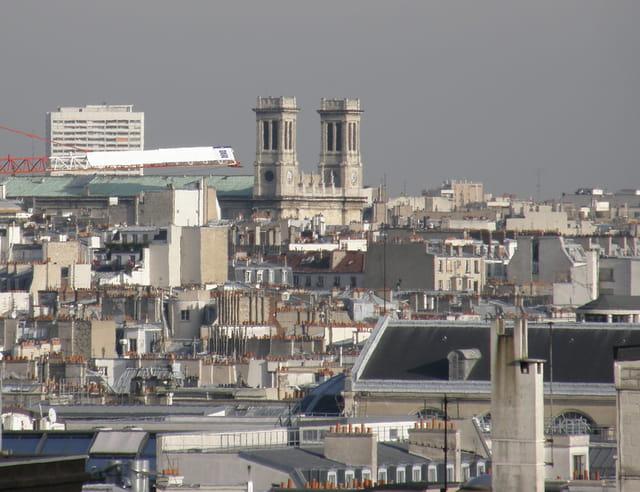 Les toits de Paris : L'Eglise Saint-Vincent-de-Paul