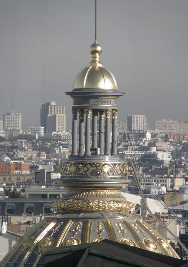 Les toits de Paris : Le petit temple au dôme doré