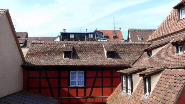 Les toits de Strasbourg...