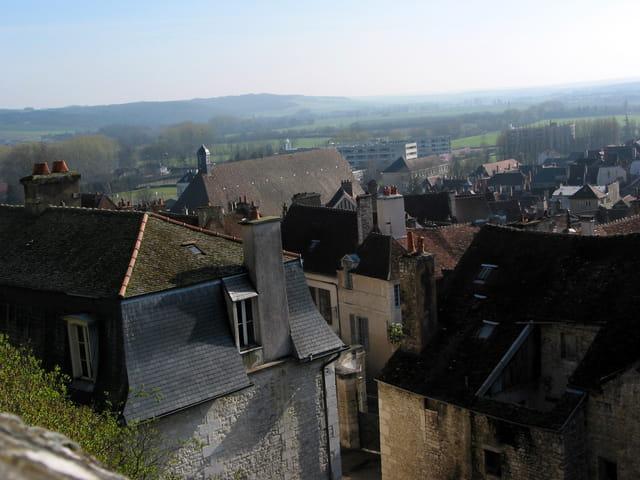 Les toits de Tonnerre