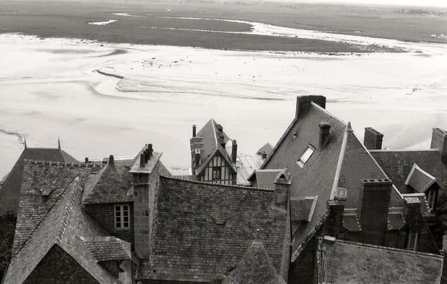 Les toits du mont Saint-Michel