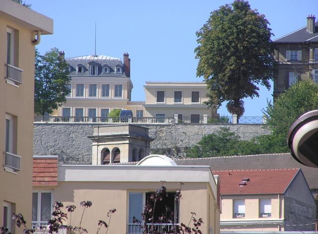 Les toits du Pecq vers St-Germain-en-Laye