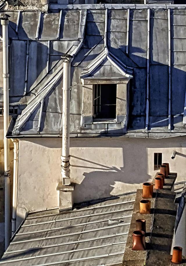 Les toits du vieux Paris