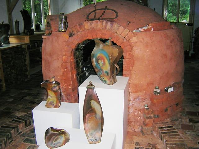 Les vases de poterie