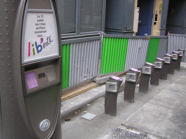 Les vélos de Paris