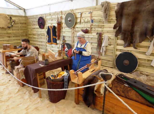 Les vikings s'invitent aux fêtes normandes - Travaux manuels