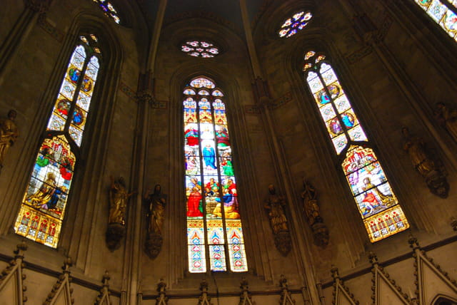 les vitraux de la cathédrale de Zagreb