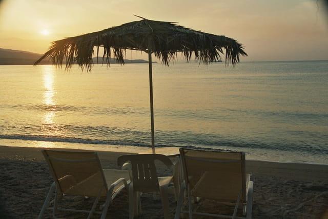 Levé de soleil en Grèce
