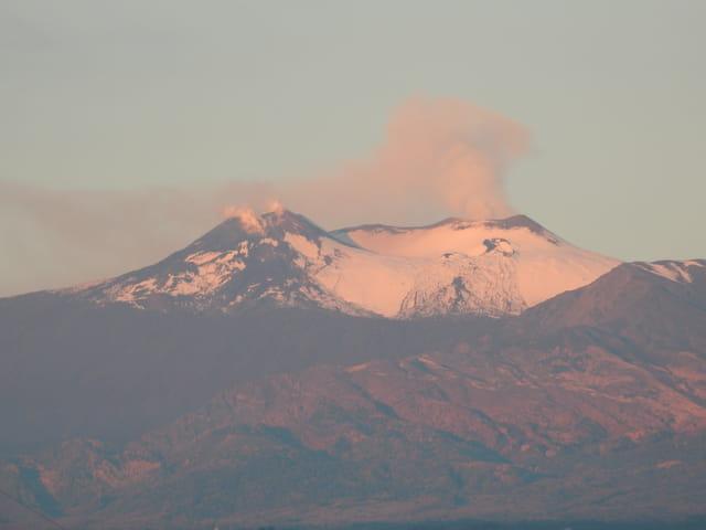 Levé de soleil sur l'Etna