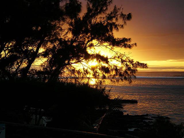 Lever du soleil Ile Maurice