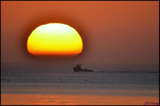 Levé du soleil sur le MIQUELON!