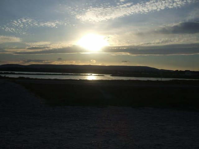 Lever de soleil sur les étangs de Vic la Gardiole