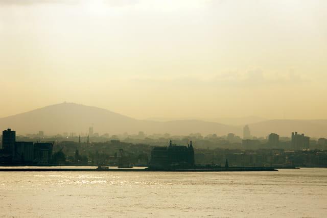 Lever de soleil à istanbul