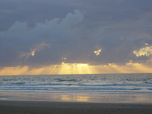 Lever de soleil australien