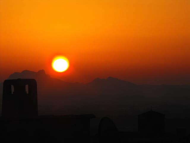 Lever de soleil en PACA