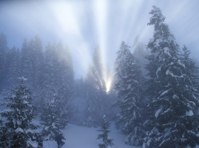 Lever de soleil miraculeux...