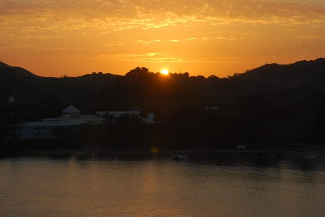 lever de soleil sur Amber Cove