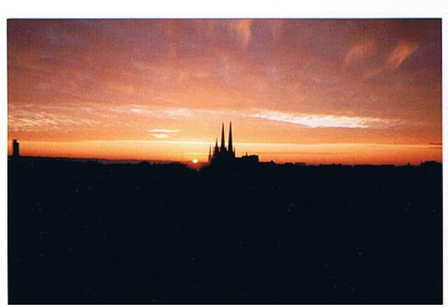 lever de soleil sur la Cathédrale